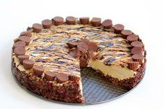 Frozen Peanut Butter Cheesecake - Best Yummy Recipes