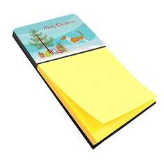 American Foxhound Merry Christmas Tree Sticky Note Holder BB2916SN