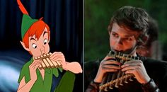 There's no difference <- Yes there is. Robbie Kay is not some strange ginger with a funny hat.<<<< and the animated Peter Pan is not a villain. Peter Pan Ouat, Robbie Kay Peter Pan, Peter Pan Disney, Peter Pans, Jeremy Sumpter, Abc Tv Shows, Favorite Tv Shows, My Favorite Things, Funny Hats