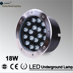 59.90$  Buy here - http://ali36k.worldwells.pw/go.php?t=1506292424 - Free shipping LED underground lamp 18W inground light ,IP67 embedded light AC85-265V  LUL-A-18W  3years warranty 59.90$