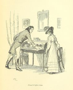 Gorgeous Jane Austen Novel Illustrations From the Time Before Adaptations