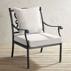 Marielle Cast Aluminum Armchair Front Porch Chairs Lawn Chairs Outdoor Chairs Sit Back & 80 Best *Patio Furniture u003e Chairs u0026 Ottomans* images | Chair ...