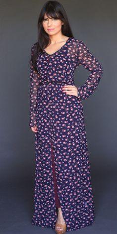 Mini Buds Maxi Dress