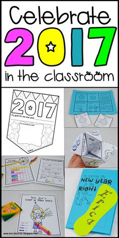 Celebrate 2017 in the classroom!  Free download and more