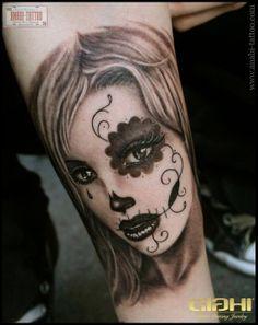 dia de la muerte tattos | dias de la muerte tattoo
