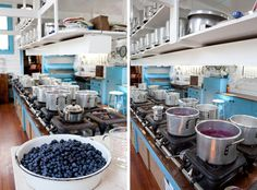 green briar jam kitchen in East Sandwich, MA: uses the same methods of jam-making as used in early 1900s when it was founded (souvenir stop!)