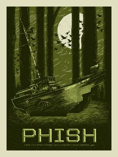 Phish #MusicArt #LivePoster #BandPoster