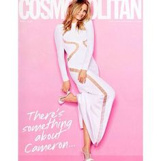 Cameron Diaz in Emilio Pucci for Cosmopolitan!