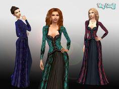Regina's Apple Gown Conversion at My Stuff via Sims 4 Updates