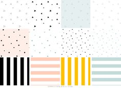 Creative Mindly: FONDOS PATTERN PERFECTOS PARA BLOGS