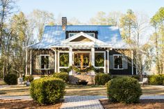 Southern Living House Plans cover every base for first-time homeowners. From modern farmhouse plans to cottage house plans, this collection is chock-full of inspiration. Two Story House Plans, Best House Plans, House Floor Plans, Southern Living House Plans, Simple House Plans, Cottage House Plans, Cottage Homes, Retirement House Plans, Retirement Planning