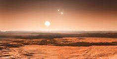 A zona habitável de uma estrela próxima está cheia até à borda com planetas capazes de sustentar vida alienígena, anunciaram ontem (25 de junho) os cientistas.