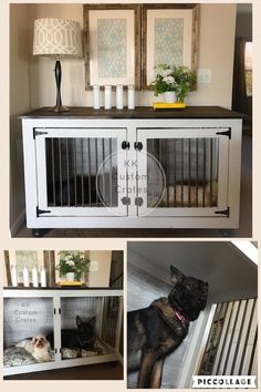 dog care,dog grooming tips,dog ideas,dog nail trimming,dog ear cleaner Diy Dog Kennel, Custom Dog Kennel, Dog Kennels, Kennel Ideas, Dog Hammock, Dog Crate Furniture, Custom Crates, Diy Dog Crate, Dog Cages