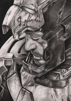 Iron Man' graphite drawing by Pen-Tacular-Artist on DeviantArt