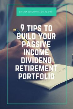 9 rules of successful dividend investing. Use these rules to achieve passive income retirement! Never chase yield. Dont go dumpster diving. Pay up for quality. Dont be afraid to sell. Diversification is importantClick through to read the rest! Stock Market Investing, Investing In Stocks, Investing Money, Real Estate Investing, Drip Investing, Retirement Advice, Investing For Retirement, Early Retirement, Retirement Strategies