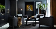 [New] The Best Home Decor (with Pictures) These are the 10 best home decor today. According to home decor experts, the 10 all-time best home decor. Interior Walls, Decor Interior Design, Interior Decorating, Living Room Inspiration, Interior Inspiration, Elegant Living Room, Dark Interiors, Luxury Living, Apartment Living