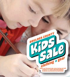Saturday, October 1st is the Boulder County Kids Sale, a twice-annual consignment sale hosted by Boulder County Parents of Twins & More, which is a 501(c)(3) nonprofit organization. Their event is attended by over 500 people. Everyone will gather at from 8am to 1pm at Boulder Valley Christian Church on South Boulder Road, where plenty of great clothing and gear will be for sale, with items ranging from Halloween costumes and musical equipment to bikes and baby toys.