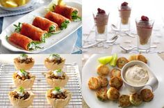 25 quick and easy canapes someone should make these for me .. or a bowl of fresh peas to shuck ?