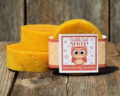 Good Morning Sunshine Soap by BubbleOwlSoap on Etsy