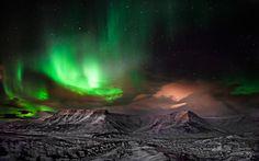 Light Mountain in Iceland - ESJAN // photo by Olinn Thorisson // via 500px