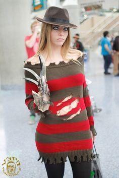 Rule 63 Freddy Krueger (Nightmare on Elm Street) photographed by V Threepio.