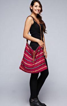 The Tahiti Love Stitch Crossbody Bag