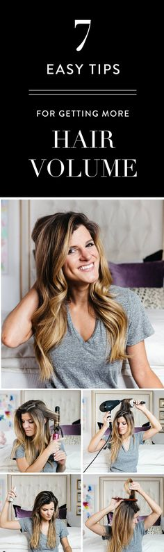 Love these tips and tricks for getting a voluminous hair style. I'll be getting more layers in my hair to help with this!
