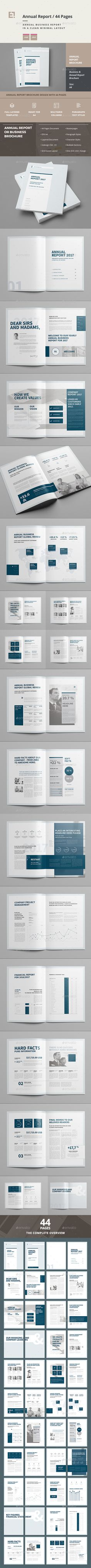98 best annual report templates images on pinterest in 2018 annual report by egotype business brochure 1 professional clean and modern 44 page corporate brochure just drop in your own pictures and texts an friedricerecipe Gallery