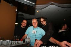 Chris Aaron, Billy Triplett, and pat mAcdonald at the board in 2010 (photo by Ty Helbach)