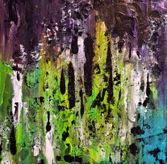 Abstracted No1 original abstract painting by abscrapted on Etsy, $40.00