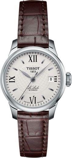 Tissot Watch Le Locle Ladies #add-content #basel-18 #bezel-fixed #bracelet-strap-leather #brand-tissot #case-depth-8-4mm #case-material-steel #case-width-25-3mm #cws-upload #date-yes #delivery-timescale-call-us #dial-colour-cream #discount-code-allow #gender-ladies #luxury #movement-automatic #new-product-yes #official-stockist-for-tissot-watches #packaging-tissot-watch-packaging #style-dress #subcat-le-locle #supplier-model-no-t41111377 #warranty-tissot-official-2-year-guarantee