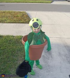 Peashooter, Plants vs. Zombies Costumes                              …