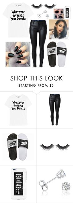 """Untitled #321"" by xoxoryssa on Polyvore featuring NIKE and Amanda Rose Collection"