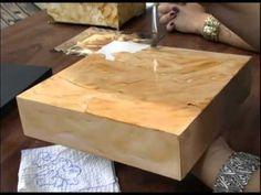 Mulher.com 21/12/2012 Marisa Magalhães -- Decoupage com guardanapo 1/2