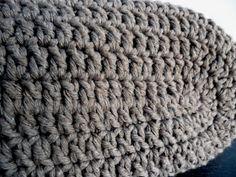 omⒶ KOPPA: virkatut kassit - ohje Merino Wool Blanket