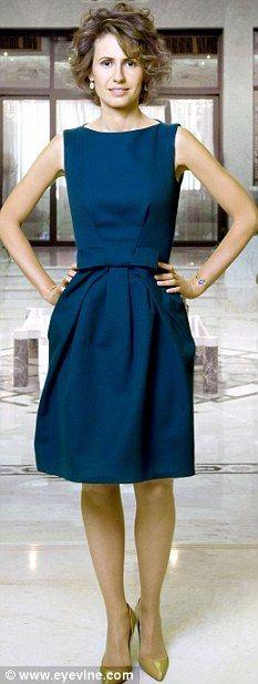 Asma al-Assad - adorable