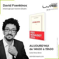 Rencontre avec David Foenkinos au #SDL2015