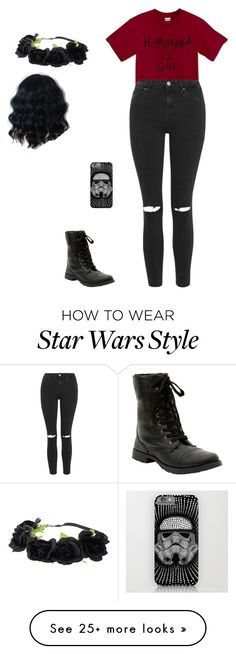"""""""Untitled #1061"""" by laylahnisoutfits on Polyvore featuring Topshop, women's clothing, women's fashion, women, female, woman, misses and juniors"""