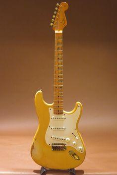 "FENDER CUSTOM SHOP 50's Style Relic Stratocaster Blonde&Gold Hardware""Mary Kay Style""/John Cruz Stamp"