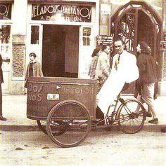 Puestos ambulantes de venta de horchata - Madrid