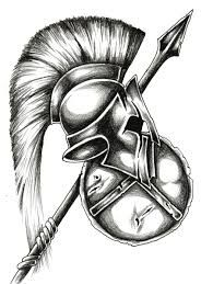 spartan helmet drawing - Google Search