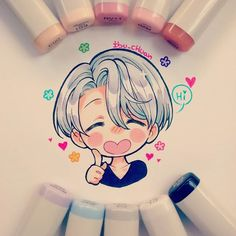 viktor with copic
