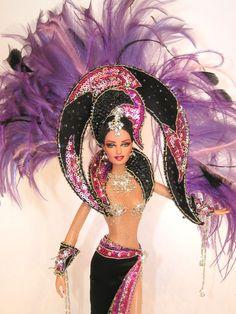 Super fun! Violet Jubilee ooak barbie by Magia2000
