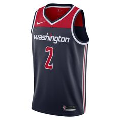 c38323a1f10 John Wall Statement Edition Swingman (Washington Wizards) Men s Nike NBA  Connected Jersey Size S (College Navy)