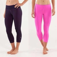 Lululemon reversible pink wunderunders Great condition, used a couple of times. lululemon athletica Pants