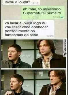 Funny supernatural memes hilarious 18 Ideas for 2019 Funny Supernatural Memes, Spn Memes, Supernatural Bloopers, Supernatural Tumblr, Supernatural Wallpaper, Supernatural Tattoo, Funny Mom Memes, Super Funny Quotes, Love Memes