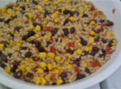 Chilled Rice  Corn Salad