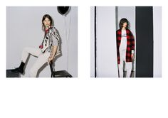 Checkered jacket on right! Fall-Winter 2014 | Isabel Marant Etoile | Collections | Isabel Marant