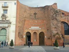 As Termas de Diocleciano e a Basílica de Santa Maria degli Angeli e dei Martiri   Turismo em Roma