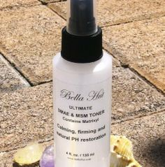 Bellahut - Anti-Aging Toner - DMAE & MSM FIRMING / 4 oz. by Bellahut. $17.95. DMAE & MSM Firming Serums In a Toner.. Oil Free Toner.. Contains Aloe barbadensis leaf juice, vegetable glycerin, black willow bark extract and tea tree oil.. Alcohol and Fragrance Free.. Suitable for all skin types.. DMAE & MSM in a Toner! This is an exciting product and so outstanding as it is more than just a simple toner. It is not wattery and has a number of ingredients that have...